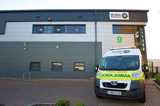 ST Johns Ambulance - ADP security