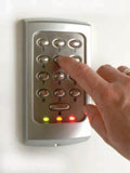 access control systems - keypad - ADP Security